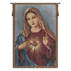 Sacred Heart of Mary European Tapestries