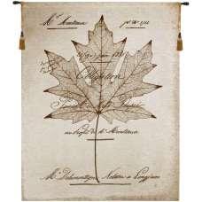 Maple Document Fine Art Tapestry