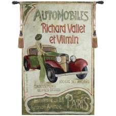 Automobile Club Fine Art Tapestry