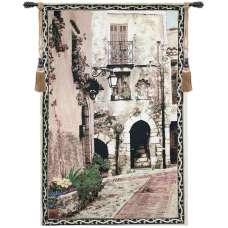 Cat In A Window I Fine Art Tapestry