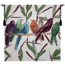 Flocked Together Fine Art Tapestry