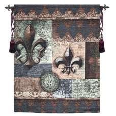 Fleur de Lis Grande Wallhanging Fine Art Tapestry
