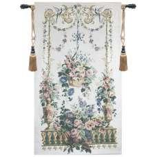 Floral Arbor Fine Art Tapestry
