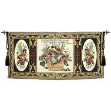 Grace with Verse Grande Wallhanging Fine Art Tapestry