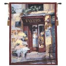 Saison de Fleurs Fine Art Tapestry