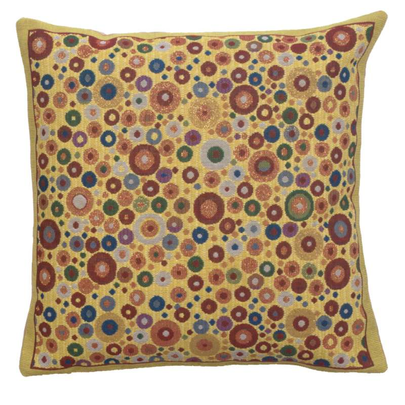 Klimt Polka Dots Belgian Cushion Cover