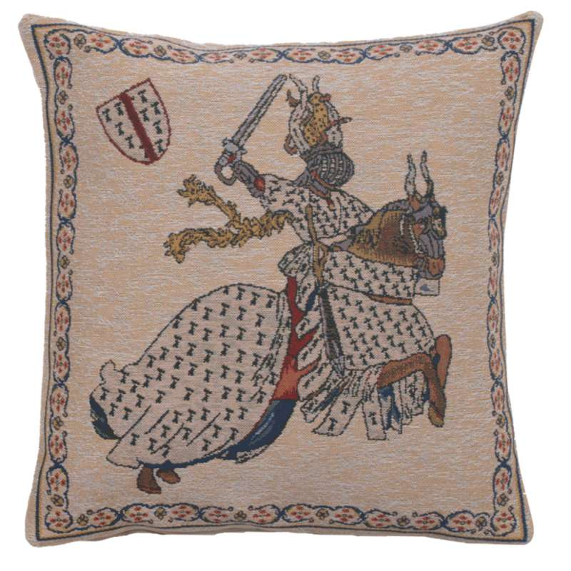 Tournament of Knights 1 Belgian Cushion Cover