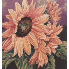 In Bloom Stretched Wall Tapestry