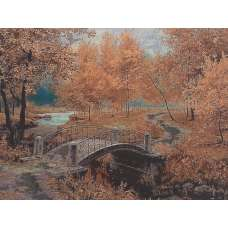 Unfettered Path Stretched Wall Tapestry