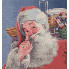 Kringle Nose Stretched Wall Tapestry
