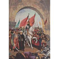 Tyrant March Stretched Wall Tapestry