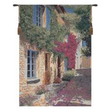 A Simple Path Stretched Wall Tapestry
