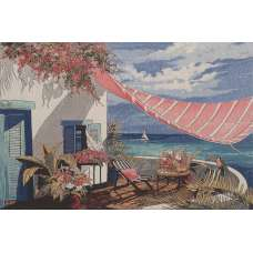 Paradise Slumber Stretched Wall Art Tapestry