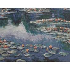 Lily Pad Junction Stretched Wall Tapestry