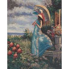 When the Wind Blows Stretched Wall Tapestry