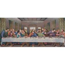 The Last Supper Tapestry Panel (Large) Stretched Wall Tapestry