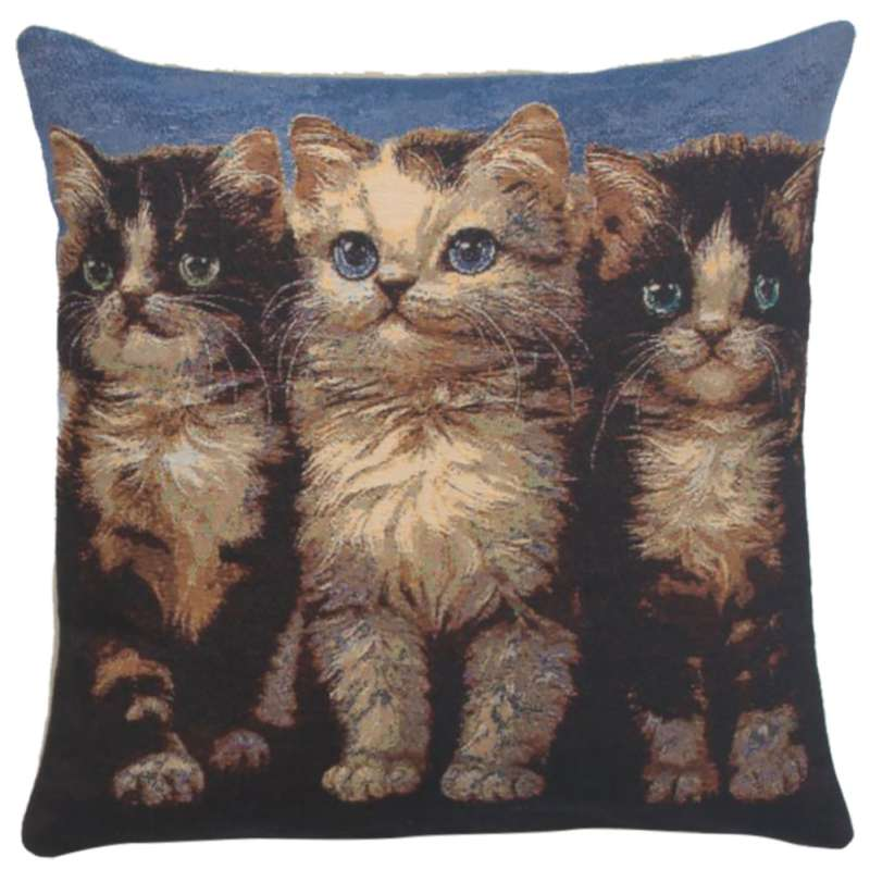 Purrfect Company Decorative Pillow Cushion Cover