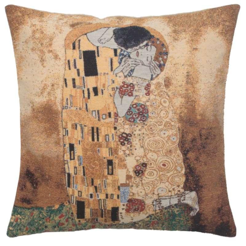 Gustav's Kiss Decorative Pillow Cushion Cover