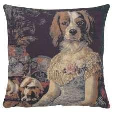 Poncelet Dame Decorative Pillow Cushion Cover