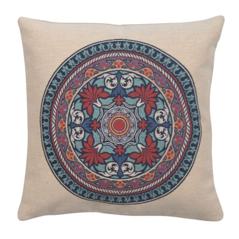 Lotus Mandala Decorative Pillow Cushion Cover