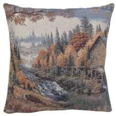 Waterwheel Decorative Pillow Cushion Cover