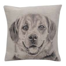 Happy Canine II Decorative Pillow Cushion Cover