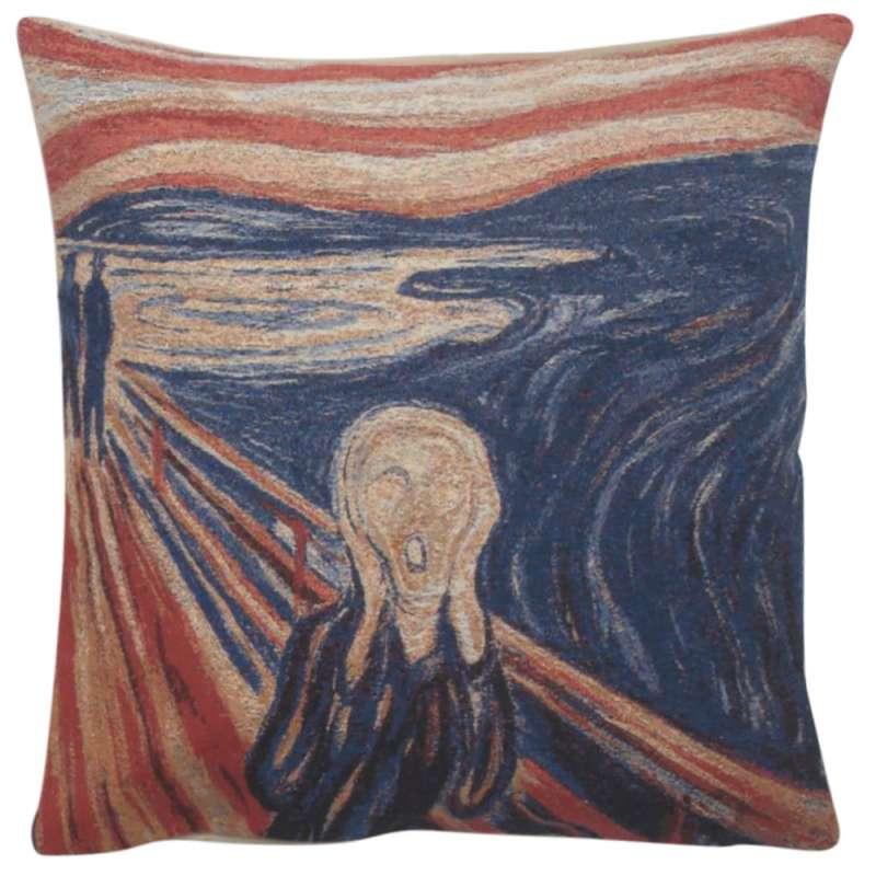Scream Decorative Pillow Cushion Cover