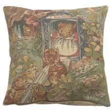 Miss Dormouse and Babies Beatrix Potter  European Cushion Cover