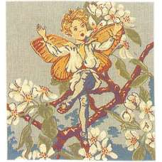 Pear Blossom Fairy Cicely Mary Barker European Cushion Cover