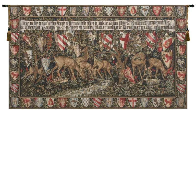 Verdure With Reindeer I European Tapestry